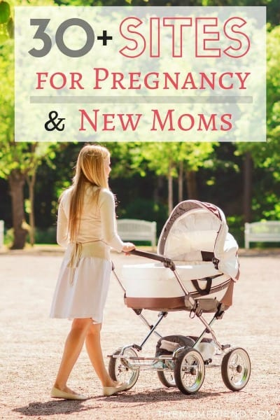 Pinnable image of pregnancy resources.