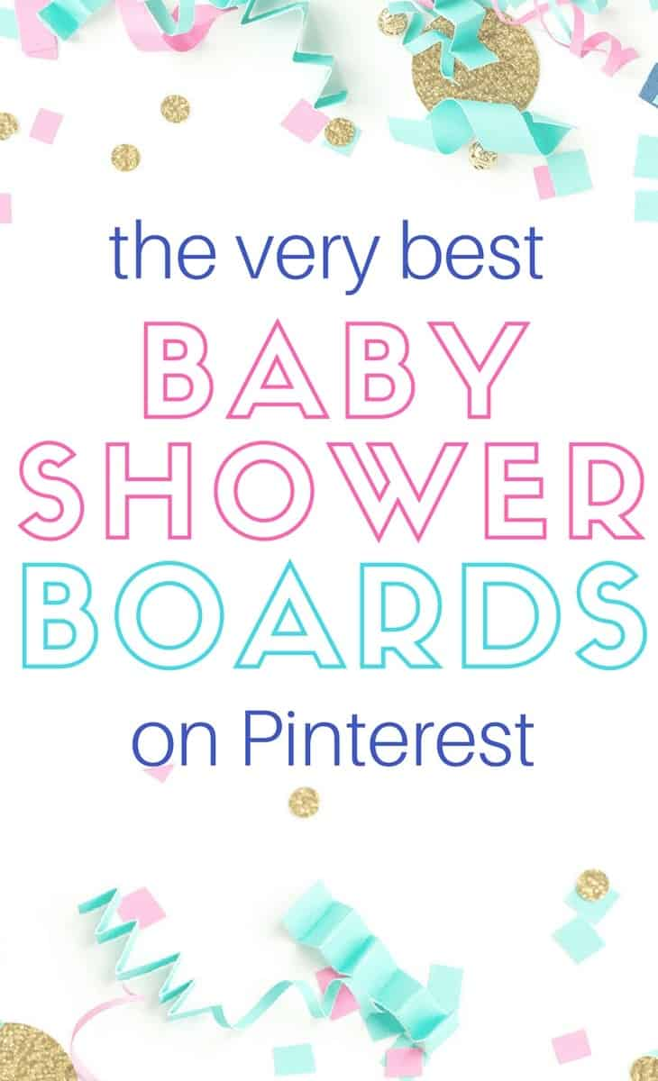 confetti with words the very best baby shower boards on pinterest