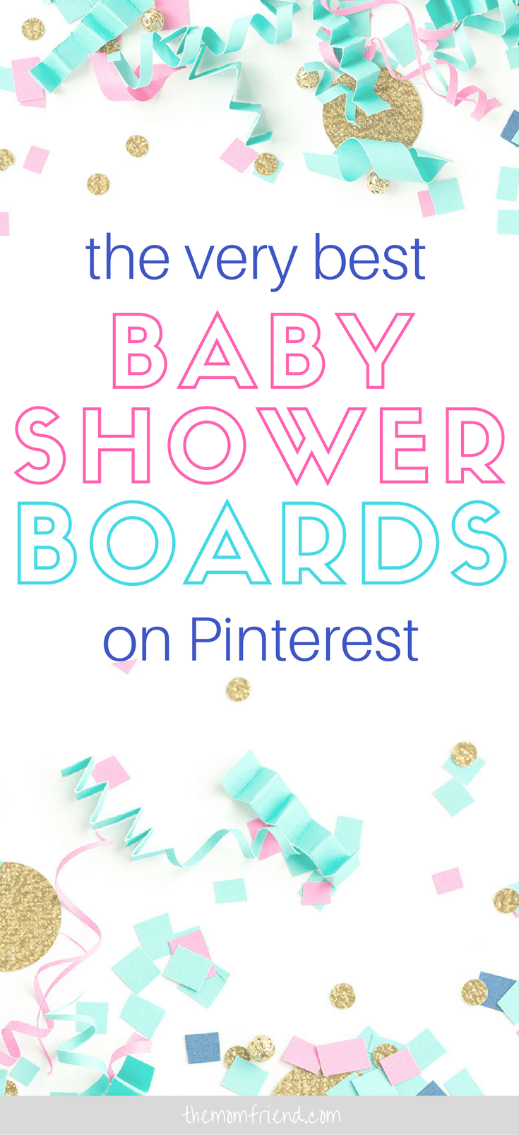 Pinnable image of Best Baby Shower Ideas.