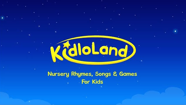 Kidloland image graphic for Nursery Rhymes, Songs & Games For Kids.