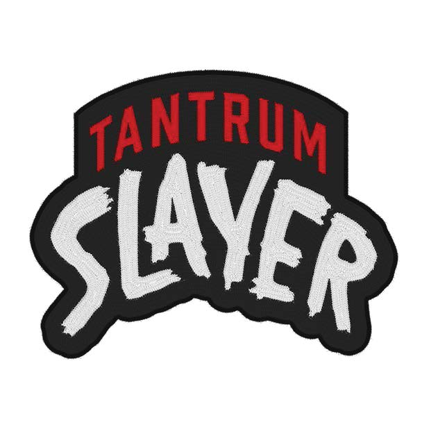 Tantrum Slayer logo.