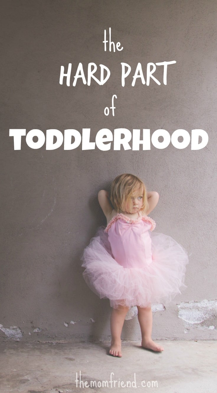 There are times when the kisses are plentiful and the giggles contagious. But then there are other times, hard times in toddlerhood. You are not alone Mama.   toddler life   toddler behavior   toddler tantrum   encouragement for moms   The Mom Friend