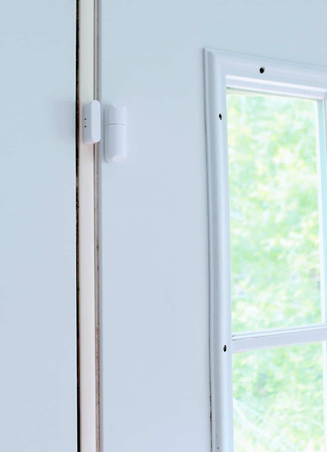 Door security sensors.