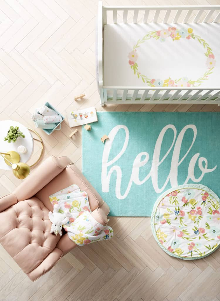 Check out Target's new line, Cloud Island! It is the perfect mix between stylish and adorable!