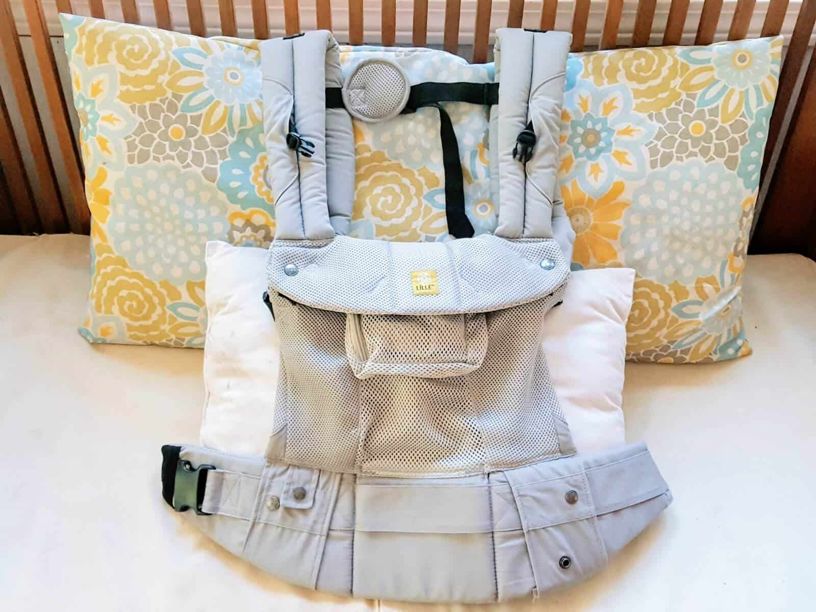 Babywearing from Birth to Toddler: LÍLLÉbaby Airflow Complete Review