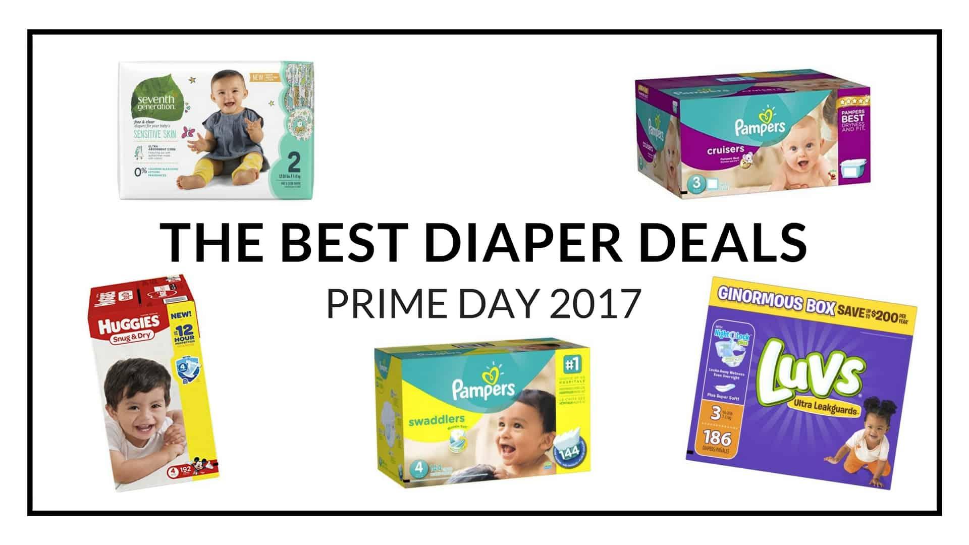 Prime Day 2017 Diaper Deals