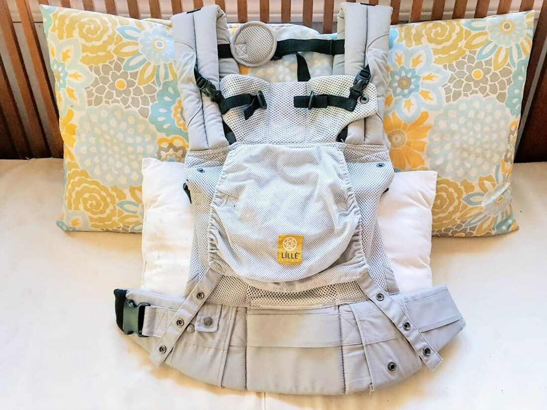 LILLEbaby Airflow baby carrier.