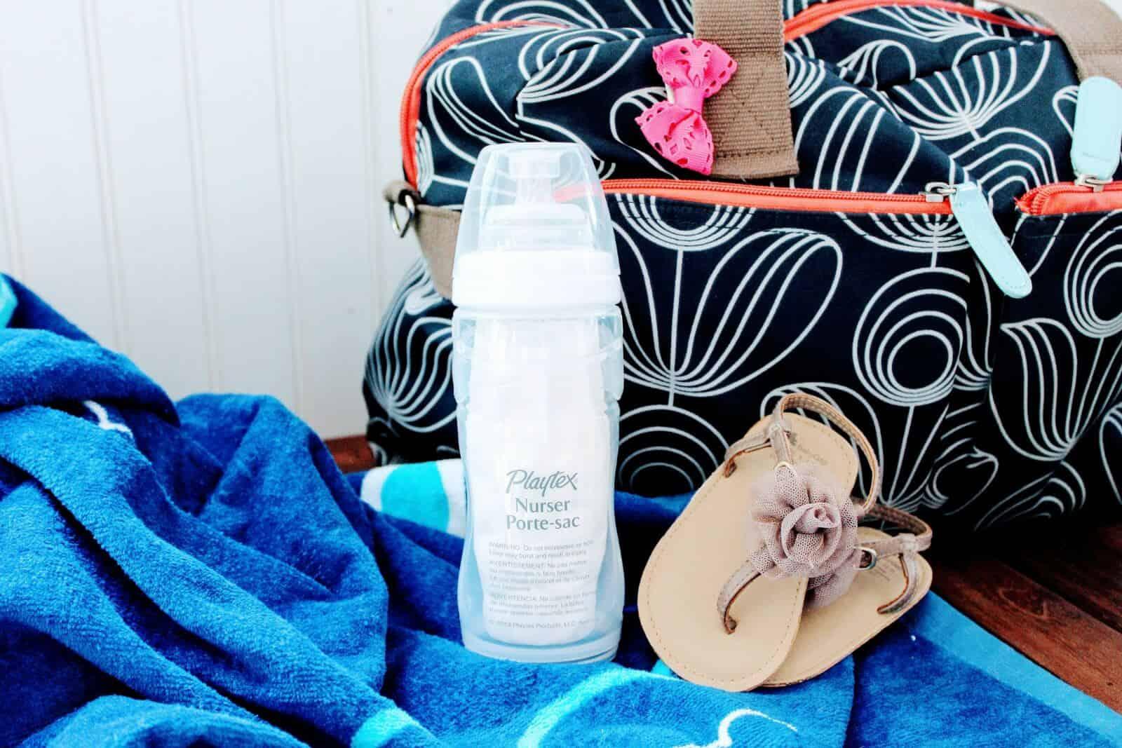 Beach trip items.