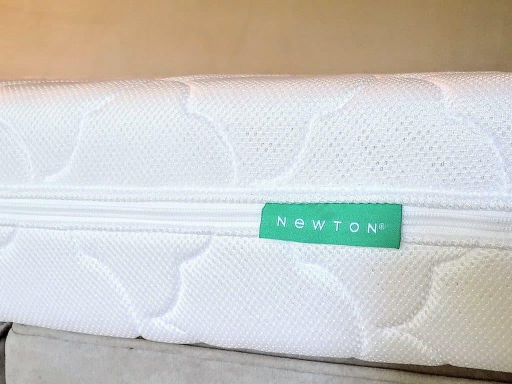 Newton Crib mattress cover.