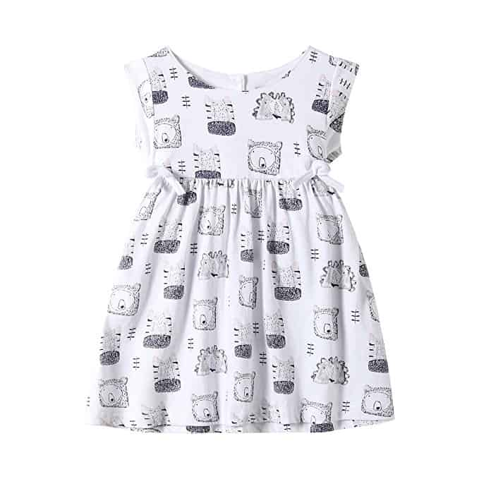 littlebitty black and white dress
