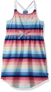 nautica braided strap dress