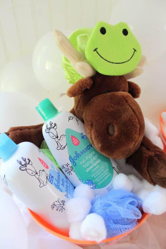 Baby gift basket idea.