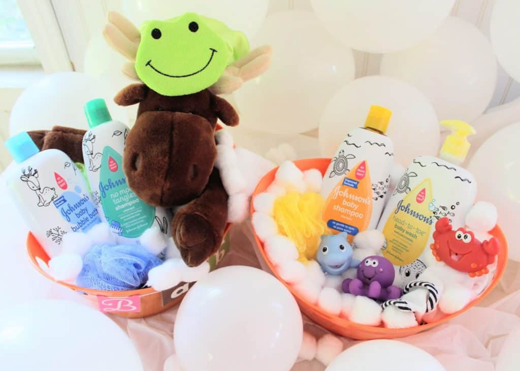 Two gift basket ideas for babies.