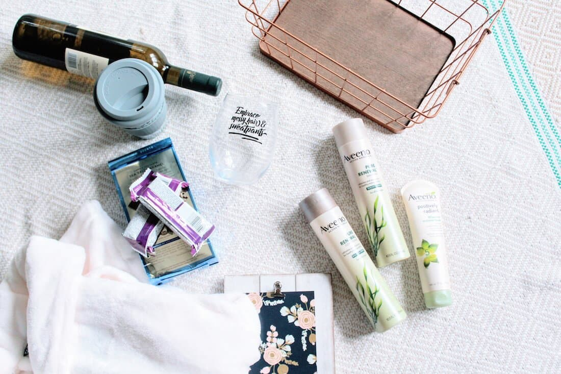 Products to include in gift basket for new moms.