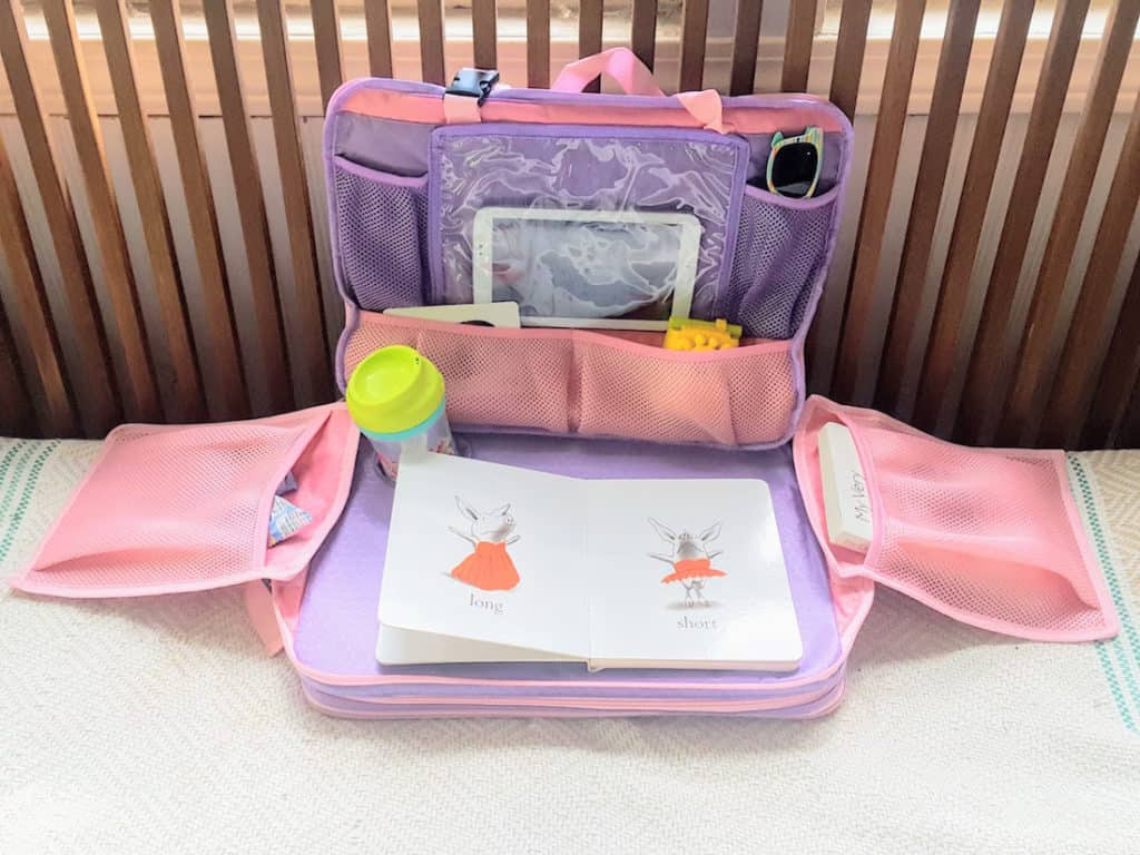 Travel item to keep toddlers entertained.