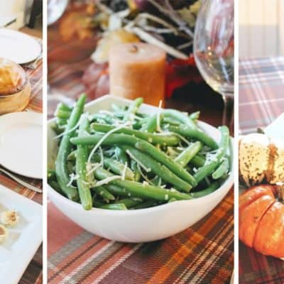 Easy, Festive & Delicious Thanksgiving Tablescape + DIY Keepsake