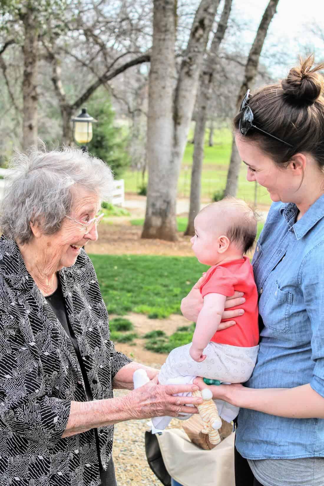 3 Life Lessons Straight from Grandma's Heart   #grandma #grandmagifts #grandparents #family #newmom #sponsored