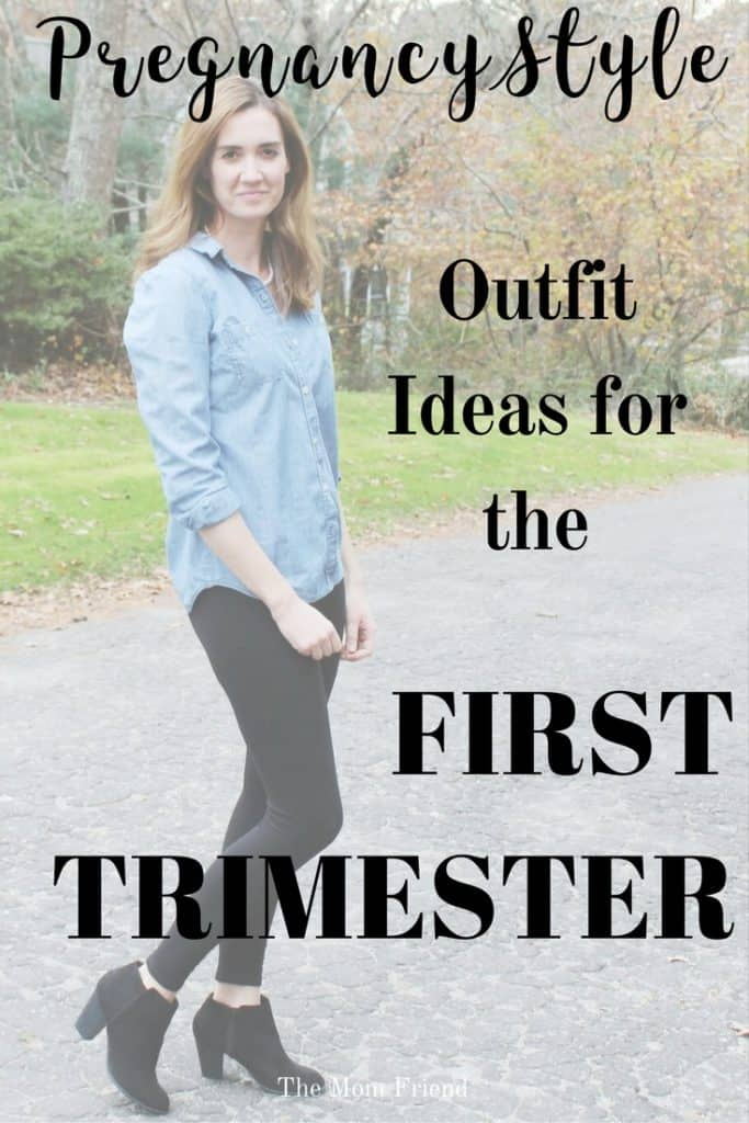 Fall/winter maternity fashion ideas perfect for first trimester! #maternityclothes #firsttrimesteroutfitideas