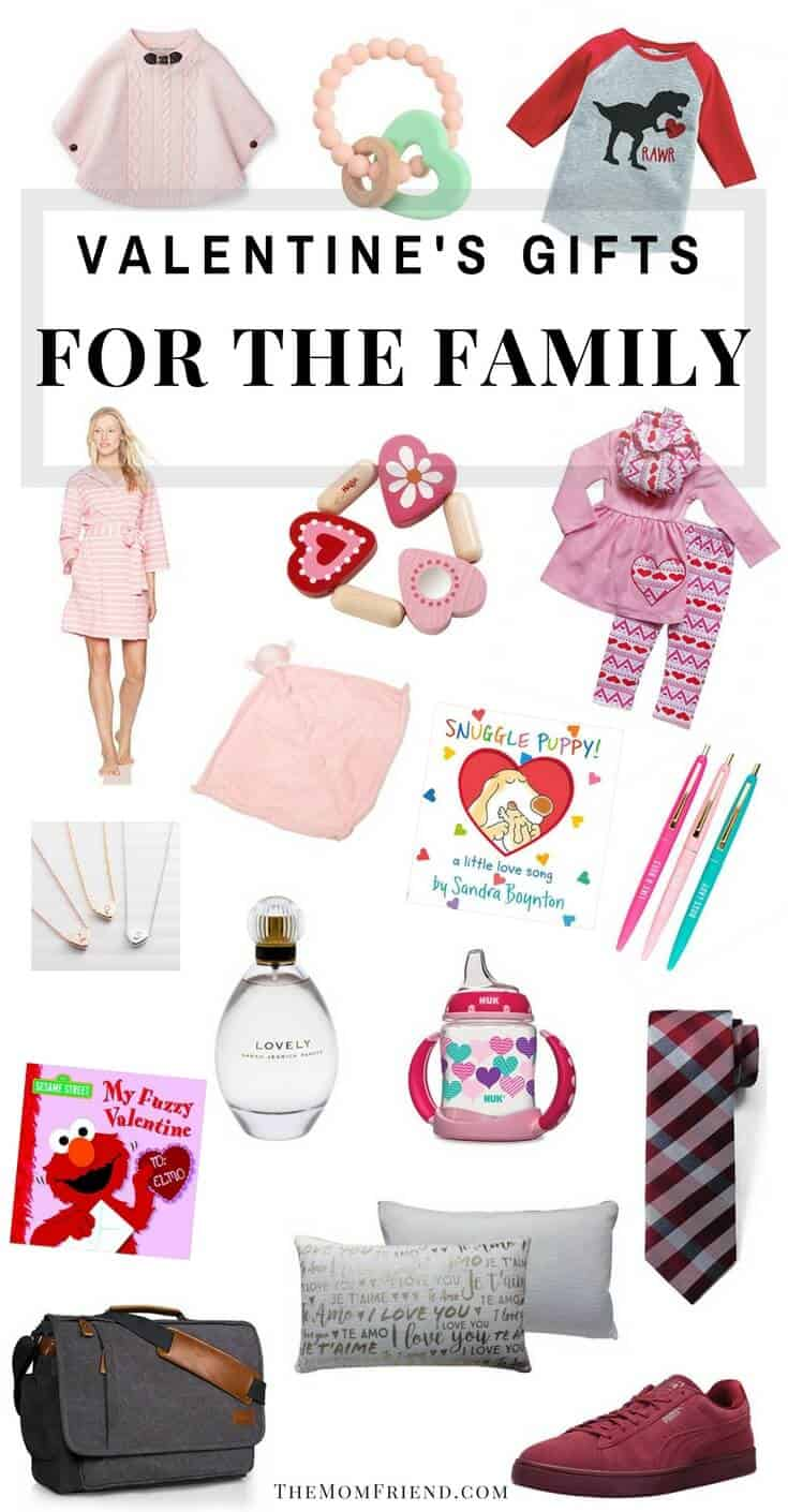 Favorite Valentine's gifts for the the family. Best gifts for babies, toddlers, moms and dads, plus gift ideas that give back! #giftideas #giftforbaby #giftguide