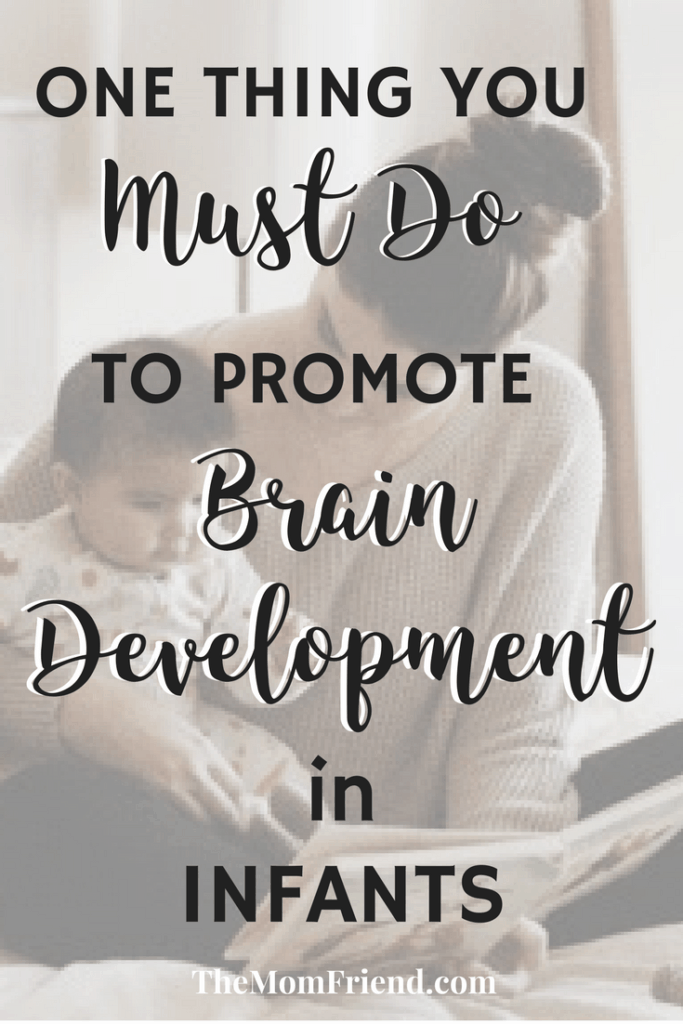 Are you a new mom? Check out one of the best baby brain development activities, even for a newborn baby! #babydevelopment #babymilestones