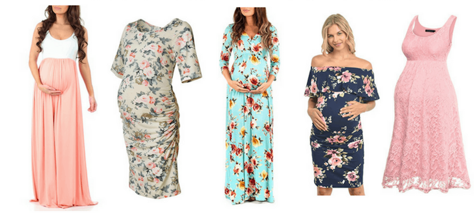 Affordable Spring and Summer Maternity Dresses (All Under $30!)