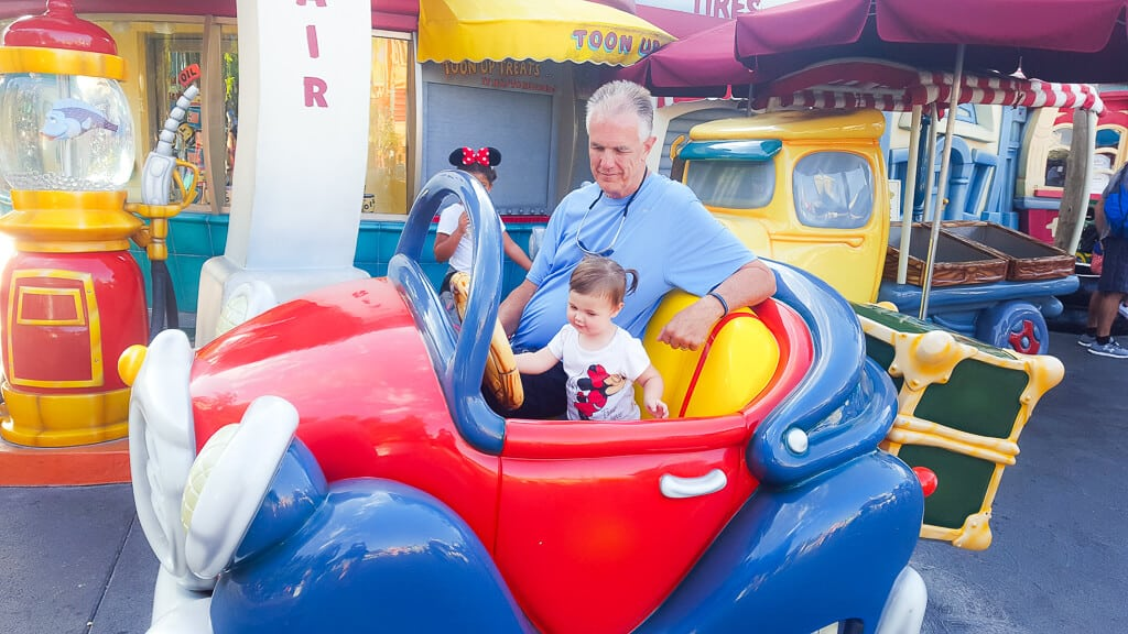 Tips for doing Disney with toddler
