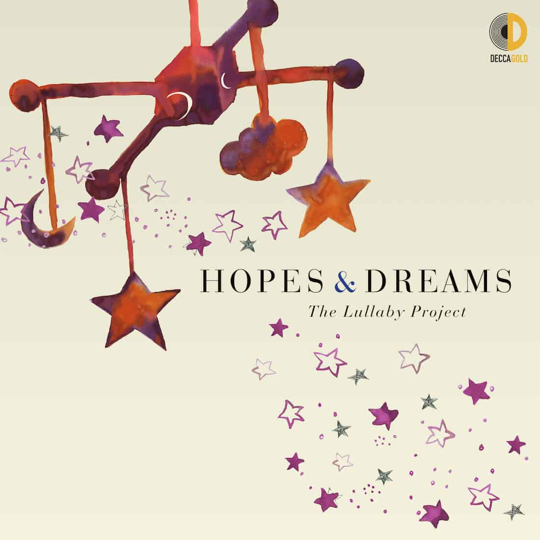 Image graphic for Hopes and Dreams Lullaby CD.