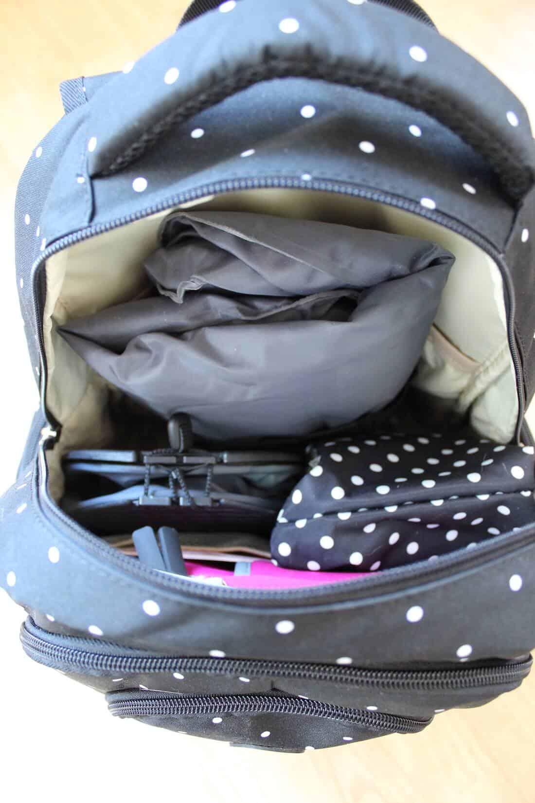 Carryon bag for plane.