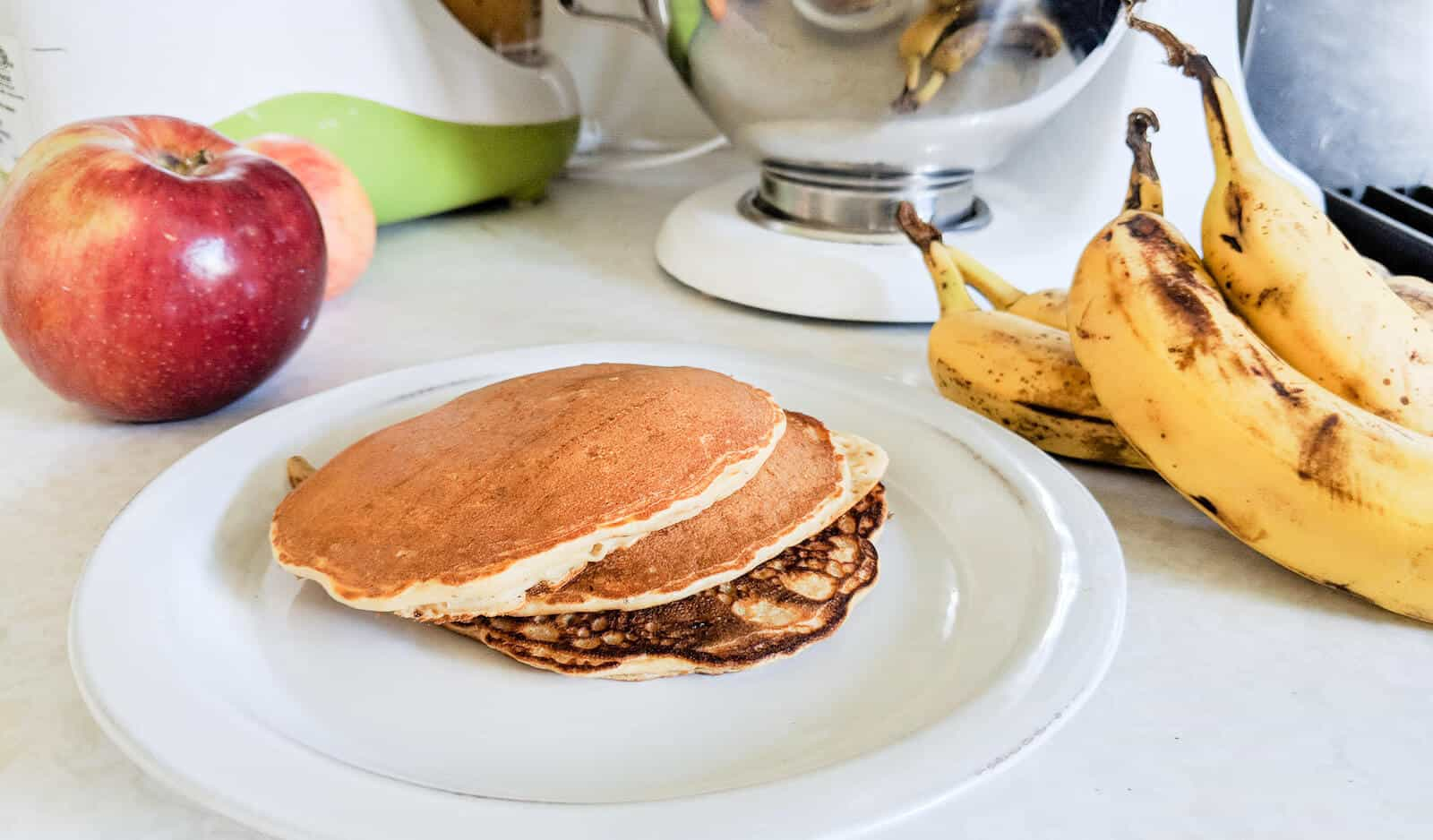 Easy Baby Led Weaning Pancakes