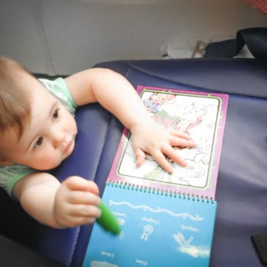 Tips for dealing with antsy toddlers on airplanes from cabin crew members