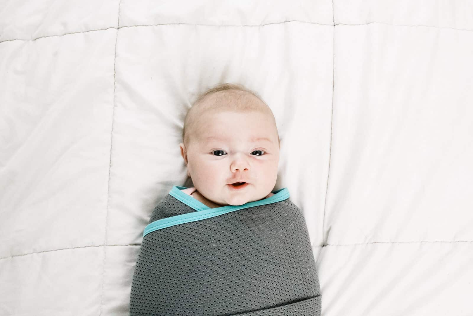 How to Swaddle a Baby (Two Ways): A Visual Tutorial