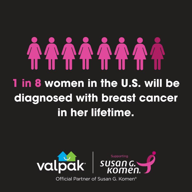 Susan G Komen breast cancer awareness image graphic.