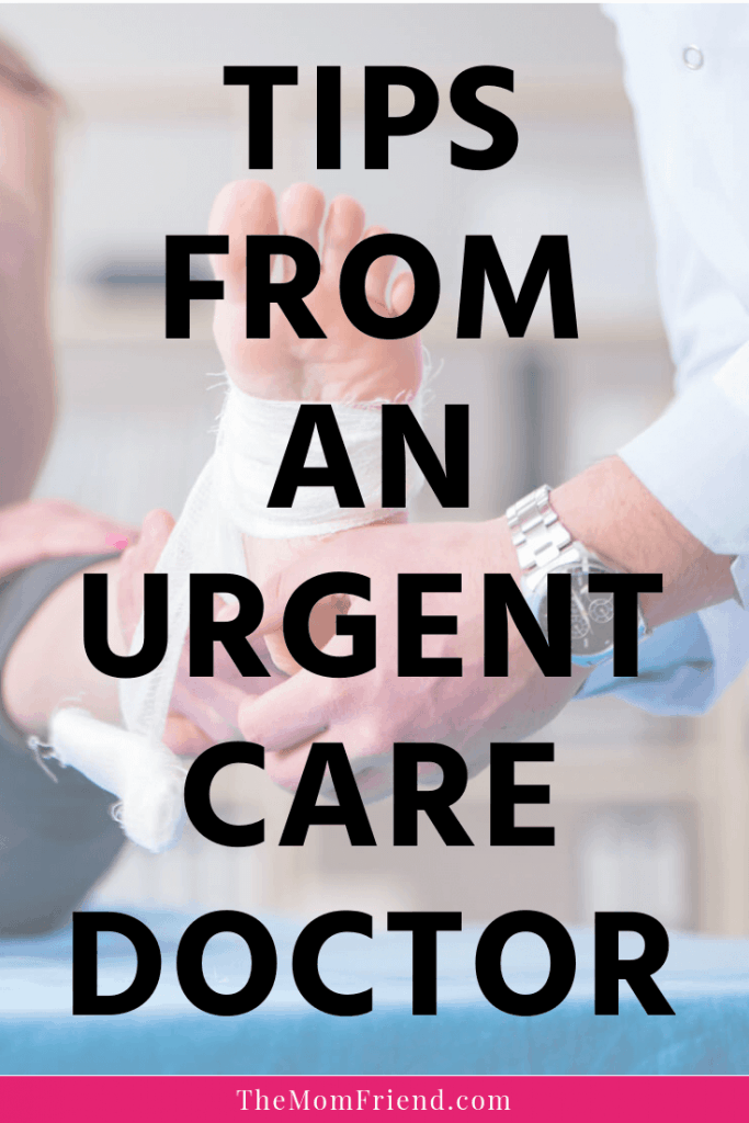 Graphic for Tips from an Urgent Care Doctor.