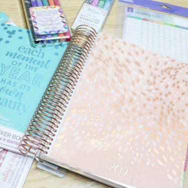 gift ideas for moms erin condren life planner supplies
