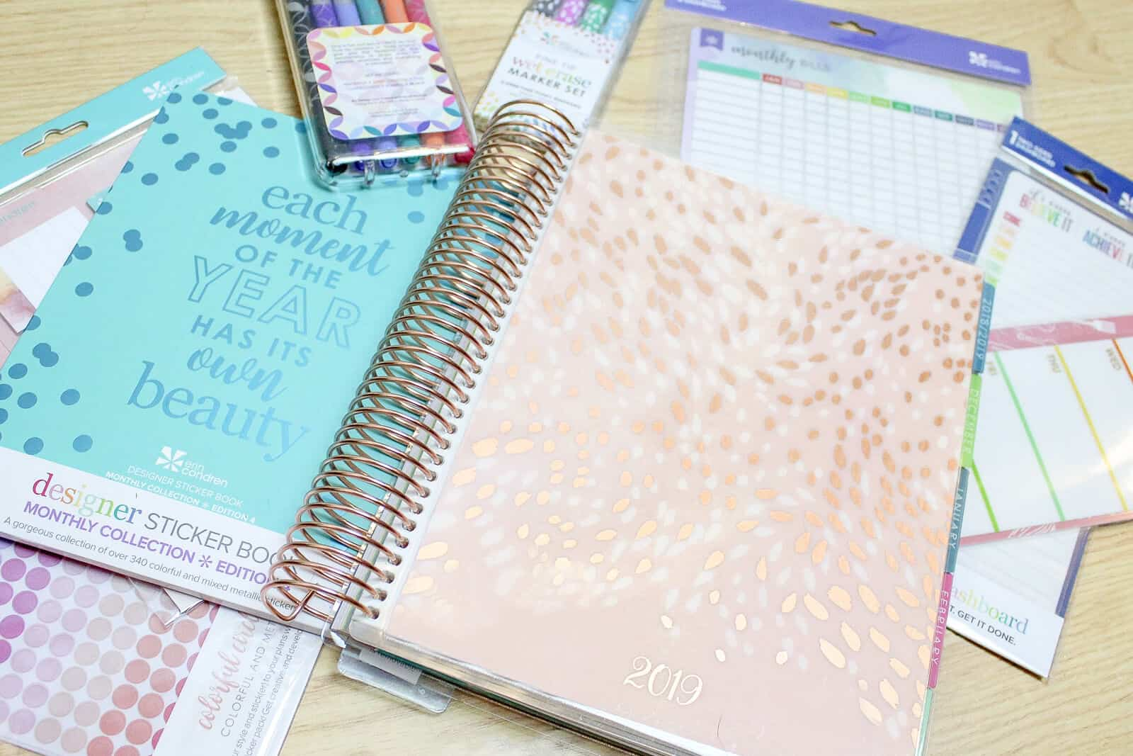 gift ideas for moms erin condren life planner supplies
