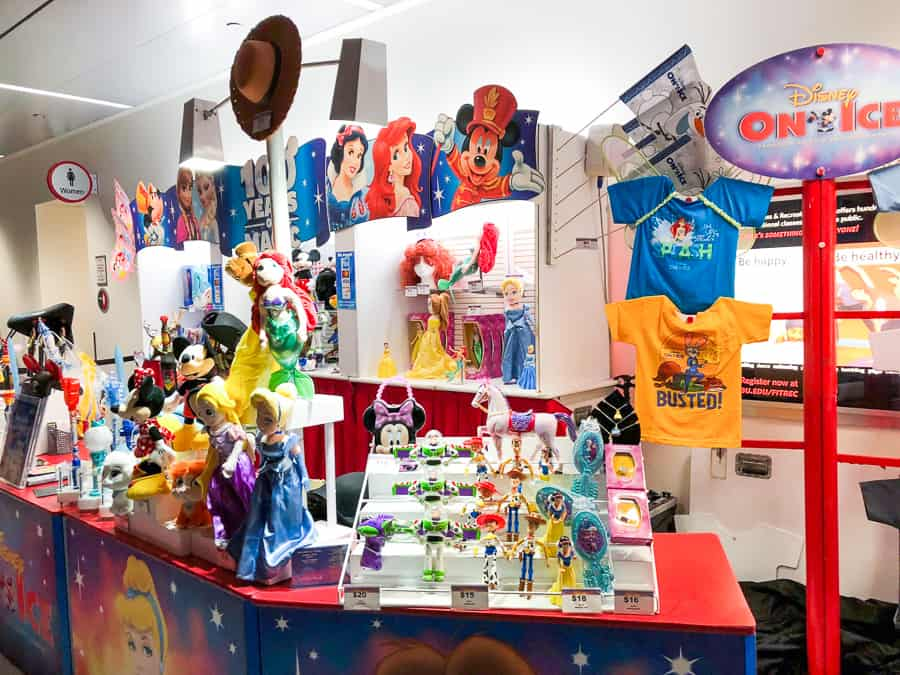 disney on ice 100 years of magic review merchandise