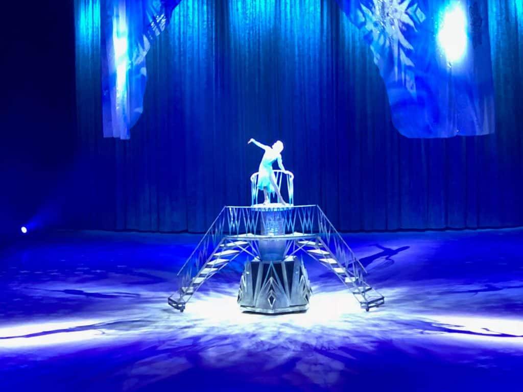 Frozen Disney on Ice performance.