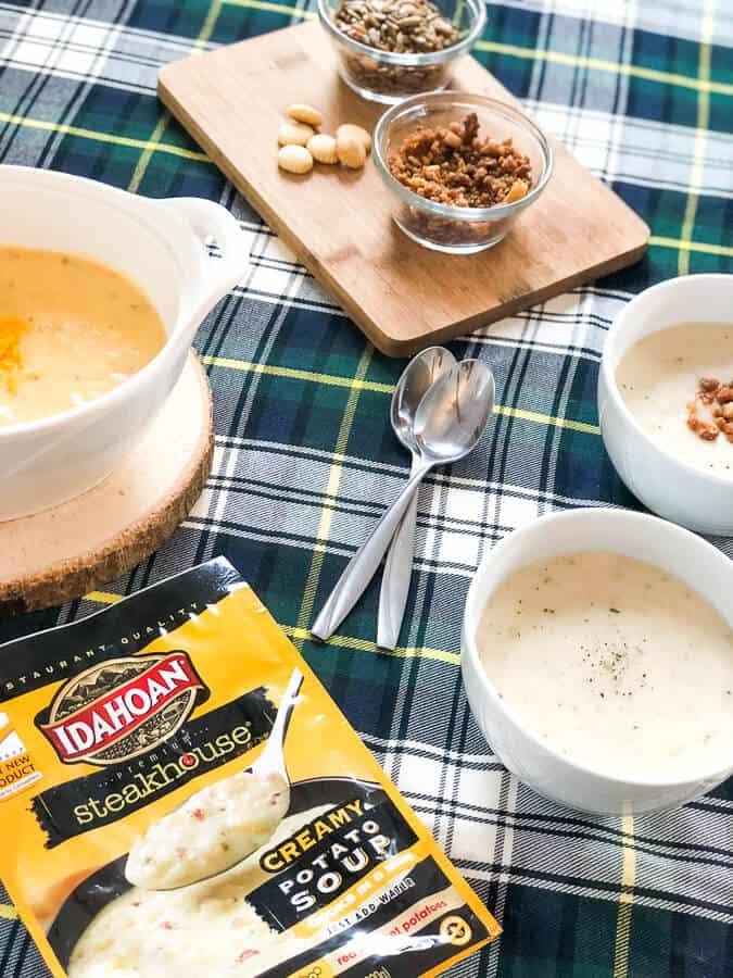 Easy Soup Party Ideas: Idahoan Steakhouse Soups