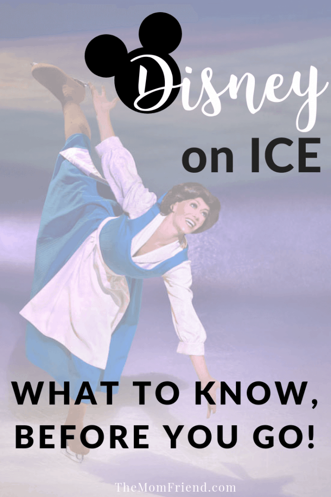 Heading to Disney on Ice? Check out these great tips about taking a baby, the best snacks and why it is great for the whole family! #disney #disneytravel #familyfun #familyactivities #disneyonice