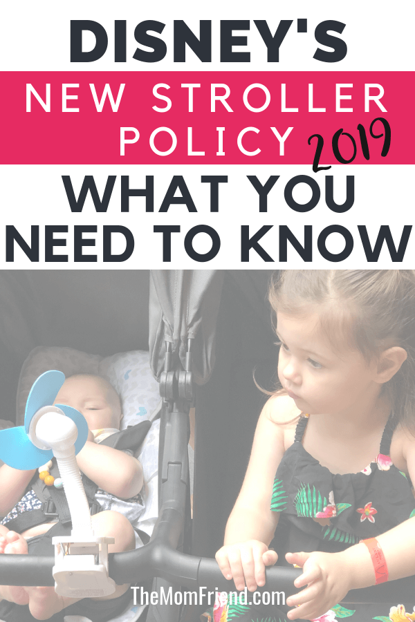Disney new stroller policy 2019 double strollers