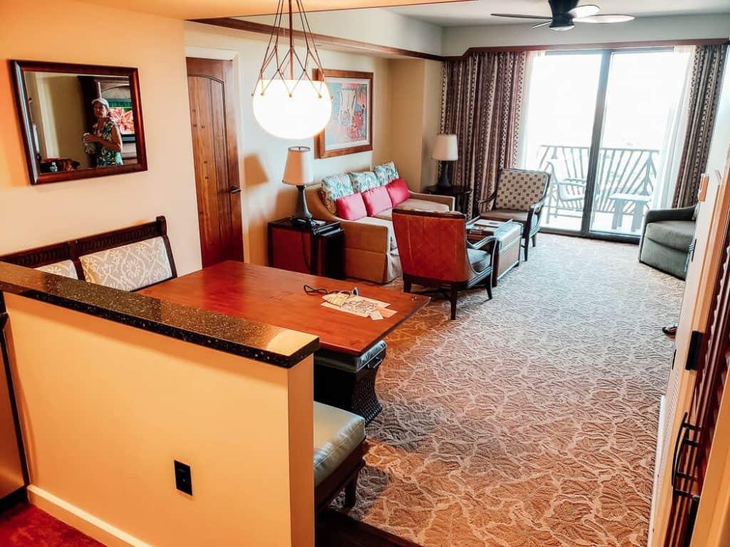 Aulani Resort Hotel room.