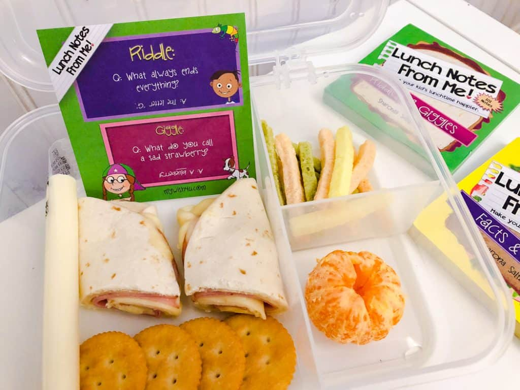 Kids lunch items for spring.