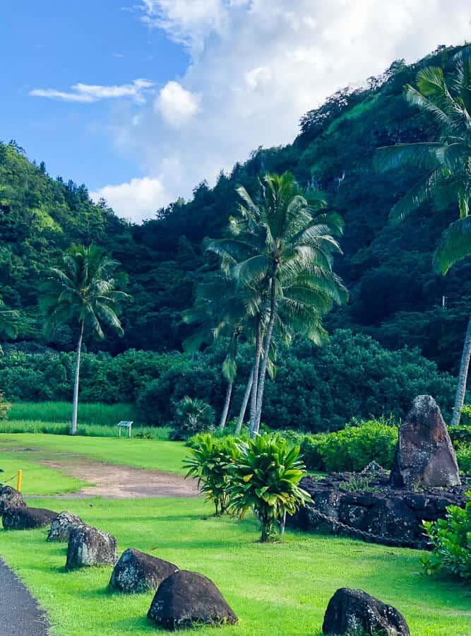 North Shore Oahu park.