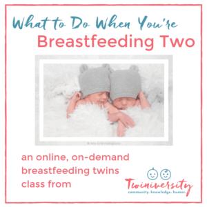 Breastfeeding class graphic.