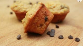 The Perfect Mini Banana Chocolate Chip Muffins