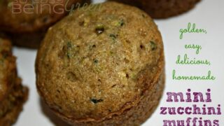The BEST & Easiest Mini Zucchini Muffins - Perfect Size for Toddlers!