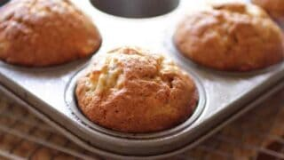 Easy Small Batch Banana Muffins Recipe