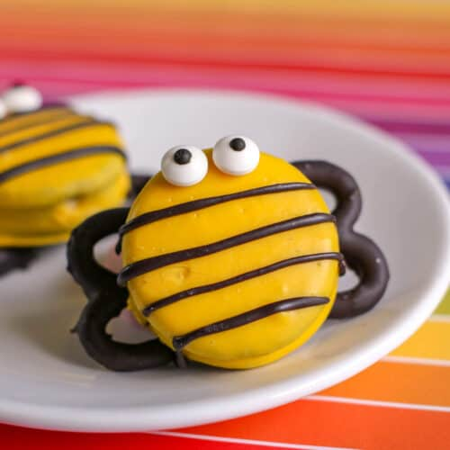 DIY Party Food: Bee Decorated Cookie Treats