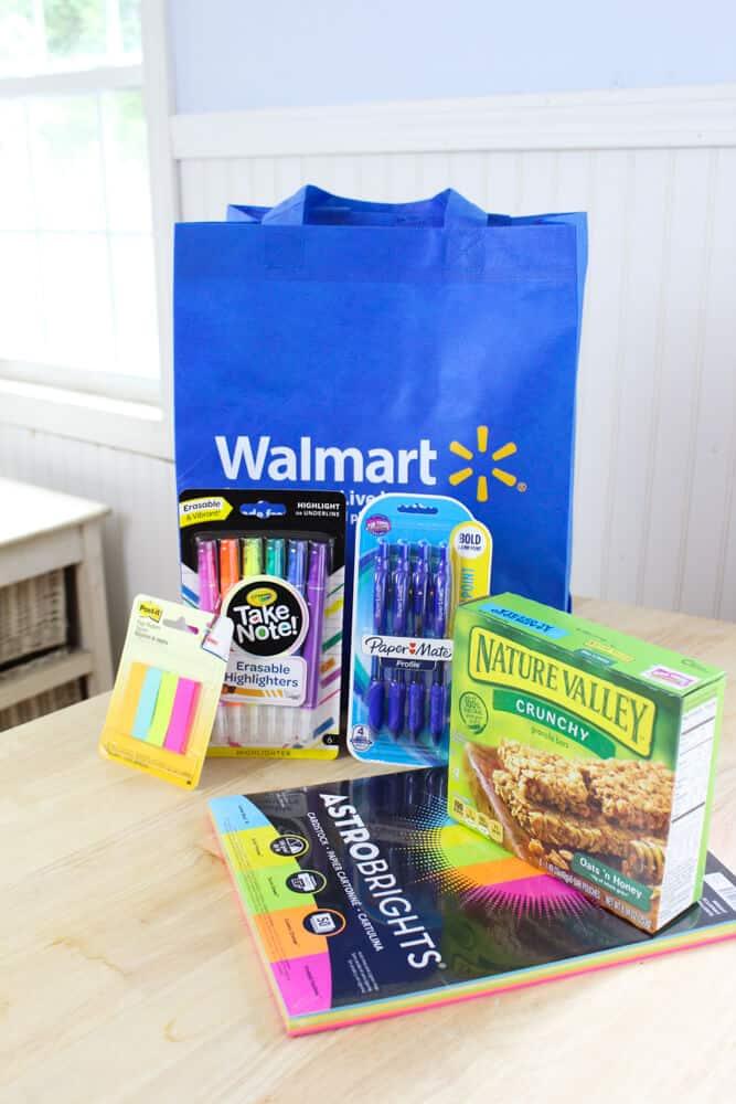 Teacher appreciation products from Walmart.