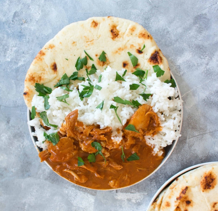 Healthy Instant Pot Butter Chicken